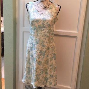 Ann Taylor floral Easter dress, size 6p
